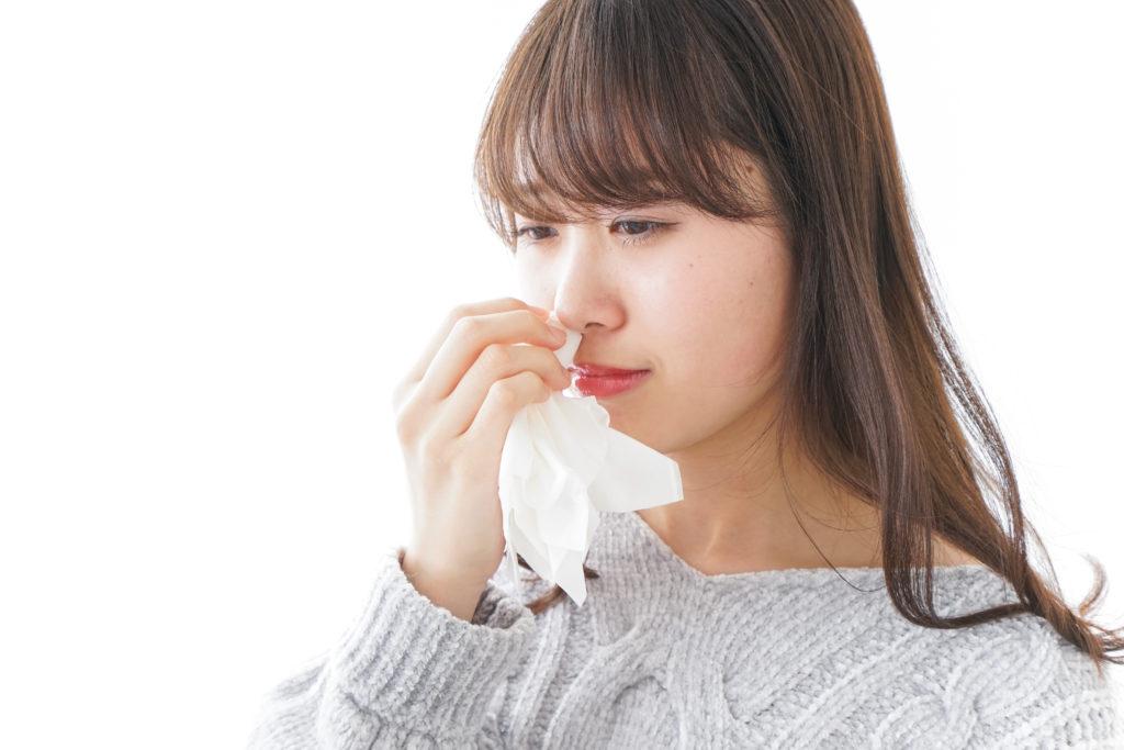 鼻血の適切な止め方教えます