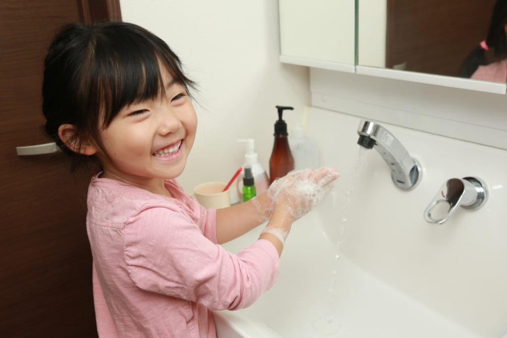 手洗いの正しい方法は?