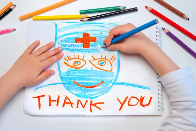 ★感謝の気持ちは、医療従事者のパフォーマンスをアップさせる